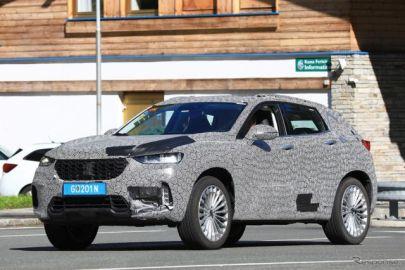 アウディ新型SUV?と思いきや…中国地場ブランド、大胆デザインで開発テスト