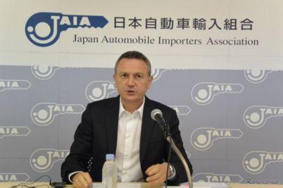 JAIAクロンシュナーブル理事長「輸入車市場は下半期もさらに成長する」