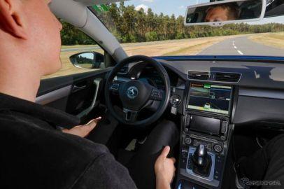 コンチネンタルとマグナ、自動運転車の試験走行…米国とカナダ国境で初