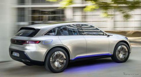 【フランクフルトモーターショー2017】メルセデス、EVコンパクトカー初公開へ…「EQ」ブランド第2弾