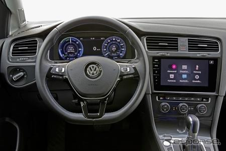 フォルクスワーゲン e-ゴルフの車載インフォテイメントシステム
