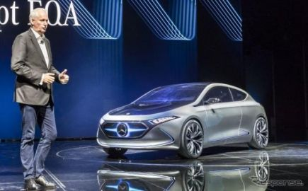 【フランクフルトモーターショー2017】メルセデス EQA…新ブランド第2弾は小型EV