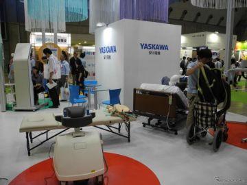 【福祉機器展2017】安川電機、新ブランドを立ち上げて医療・福祉用ロボット事業を新たな柱に