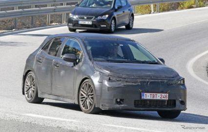 トヨタ オーリス 後継、「カローラ ハッチバック」としてデビュー!? 260馬力の高性能モデルも