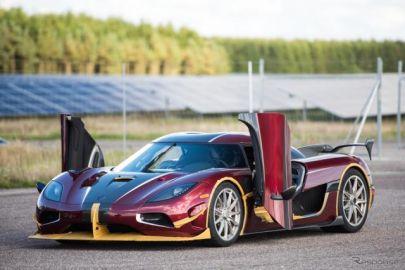 ケーニグセグ アゲーラ RS、シロン超えた…0-400-0km/h加速&急停止で世界新記録