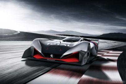 プジョー、L750 R ビジョンGT 発表…仮想スポーツカーは750hpハイブリッド
