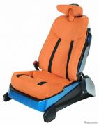 【東京モーターショー2017】TSテックが参考出品の「運転しながらエクササイズできるシート」…概要