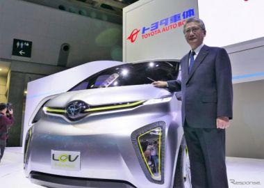 【東京モーターショー2017】次期 ハイエース を占うコンセプト LCV は「乗る人や働く人にやさしい」