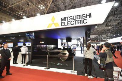 【東京モーターショー2017】電動化・コネクテッド・自動運転に必要な技術が揃う、三菱電機ブース