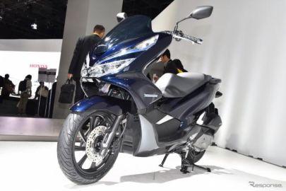 【東京モーターショー2017】ホンダ PCX が刷新…二輪車初のハイブリッドの真意とは