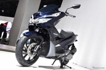 【東京モーターショー2017】ホンダ PCX 新型…初代・2代目ユーザーともに受け入れられるデザイン