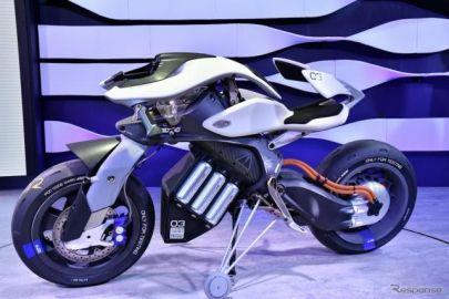 【東京モーターショー2017】ペットのようにバイクが自分のもとへ…人工知能搭載ヤマハ モトロイド