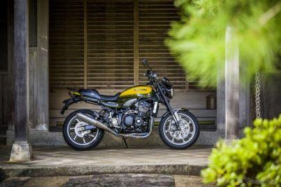【東京モーターショー2017】カワサキBeyond Z:Z900RSイエローボール…Zマイスターが早くもカスタム