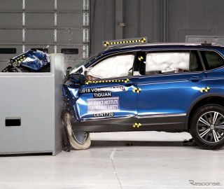 【IIHS衝突安全】VW ティグアン 新型、トップセーフティピック獲得