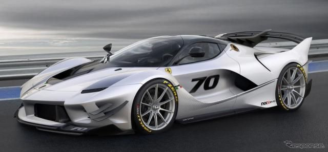 ラ・フェラーリのレーサー、FXX-Kが「エボ」に進化…空力性能が大幅向上