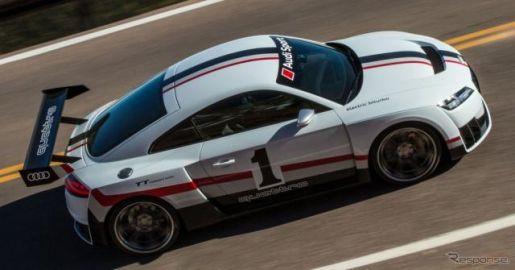 【SEMA 2017】アウディ TT 新型にクラブスポーツ、電動ターボで600hp