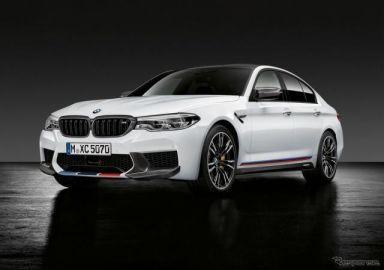 【SEMA 2017】BMW M5、Mパフォーマンス公開…スマホに運転データ表示も可能