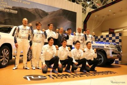 【ダカール2018】トヨタ車体、新型 ランクル200 を投入…5連覇に挑む