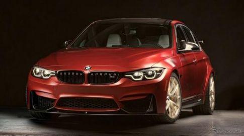 【SEMA 2017】BMW M3 に1台限り、米国30周年記念車…内装はナショナルカラー