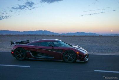 ケーニグセグ アゲーラ RS、量産車の世界最高速記録…447km/hでヴェイロン超えた