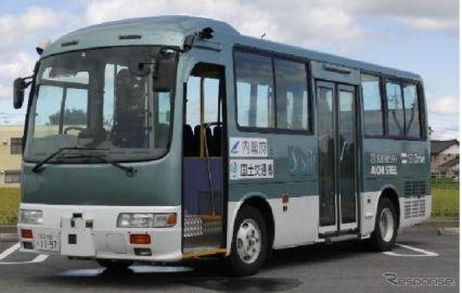自動運転バス、滋賀で道の駅を拠点にの実証実験へ…GPSと磁気マーカおよびジャイロセンサー