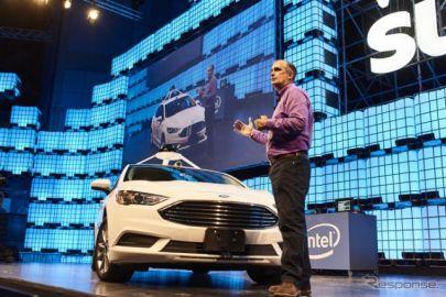 インテル、集めてる…完全自動運転車向けデータ収集車両を公開