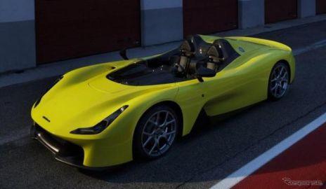 ダラーラ初の市販スポーツカー、ストラダーレ 発表…855kgの軽量ボディに400hp
