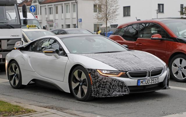 BMW i8 S スクープ写真《APOLLO NEWS SERVICE》
