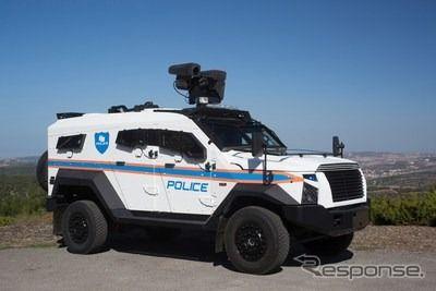 テロ対策装甲SUV、サンドキャット・ストーマー…手りゅう弾2個に耐え得る性能