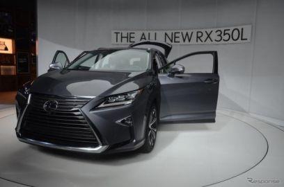 レクサス RX L を日本市場に導入、ハイブリッドを年内発売…3列シート