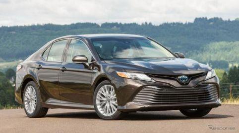 トヨタとレクサスの11車種、IIHSトップセーフティピックに…カムリ は最高評価