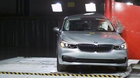 BMW 6シリーズグランツーリスモ、ユーロNCAPが★★★★★の最高評価
