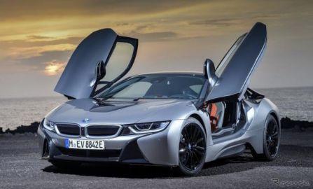 BMW i8クーペの2019年型、デトロイトモーターショー2018で初公開予定