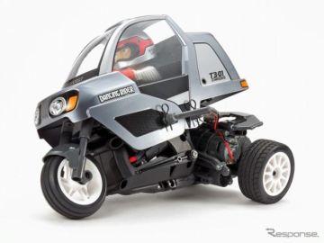 タミヤ、新感覚の3輪バイク型RCモデル発売へ…ダンスするようなコーナリング