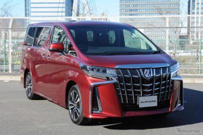 トヨタ アルファード 改良新型…第2世代セーフティセンス搭載、走りと燃費の新V6エンジンも[写真蔵]