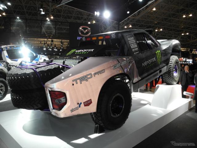 BJバルドウィン選手がレースで使用したトヨタ自動車『タンドラ』の改造車《撮影 山田清志》