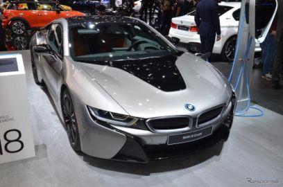 BMW i8クーペ に改良新型、最新の先進運転支援を搭載…デトロイトモーターショー2018で発表