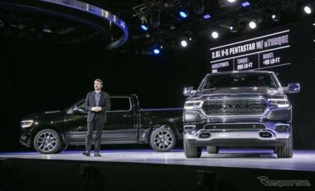 ラム 1500 新型、大型ピックアップトラックに新世代48VマイルドHV…デトロイトモーターショー2018で発表