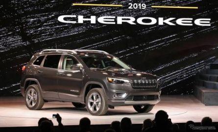 ジープ チェロキー 改良新型、新世代コネクト搭載…デトロイトモーターショー2018