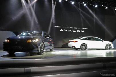 トヨタ アバロン 新型、先進運転支援が標準…デトロイトモーターショー2018