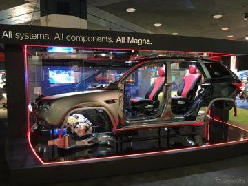 自動運転車向けの4次元レーダーシステム、マグナが発表…デトロイトモーターショー2018