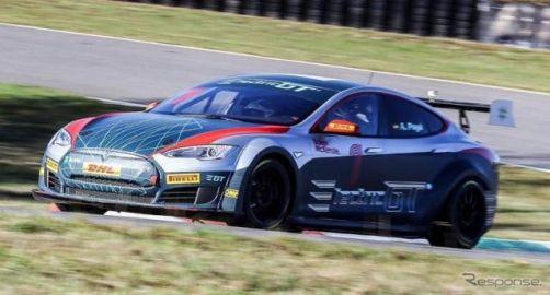 テスラ モデルS でEVレース実現へ、パワーは778hp…FIAが承認