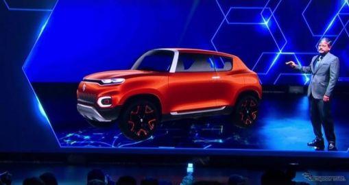 スズキが次世代の小型SUV、フューチャーS を発表…デリーモーターショー2018
