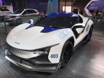 タタの新ブランド「TAMO」がEVスポーツコンセプト発表…デリーモーターショー2018