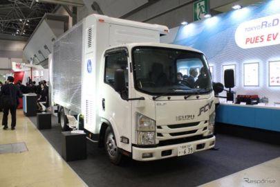 東京R&DがFCトラックを製作、2018年度より公道実証実験へ…FC EXPO 2018
