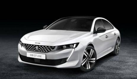 プジョー 508 新型、スポーティな「GTライン」発表へ…ジュネーブモーターショー2018