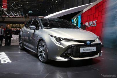 トヨタ オーリス 新型、3世代目はTNGA採用…ジュネーブモーターショー2018