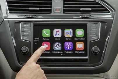 VW、アップル「CarPlay」対応車に無料音楽配信サービス…欧州で半年間