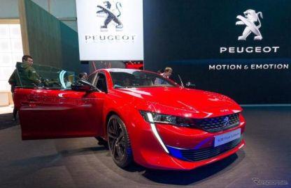 プジョー 508 新型に発売記念車、自動駐車やナイトビジョン標準…ジュネーブモーターショー2018