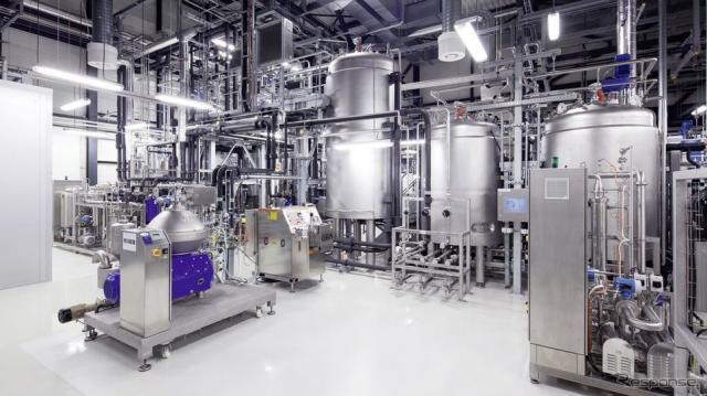 アウディの合成燃料「e-gasoline」の生産施設
